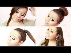 How To: My Quick & Easy Hairstyles! with @Rachel Key #krazyrayray
