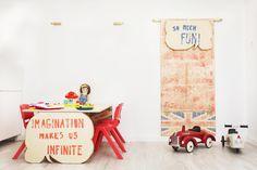Furniture for the nursery and English school Klass Formación by Pétula Plas