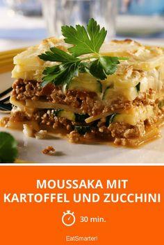 Moussaka mit Kartoffel und Zucchini - smarter - Zeit: 30 Min. | eatsmarter.de