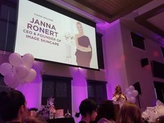 Listening to Janna Ronnert, CEO + Founder of Image Skincare speak at our WWLP event! Image Skincare, Medical Spa, Skin Care, Skincare, Skin Treatments