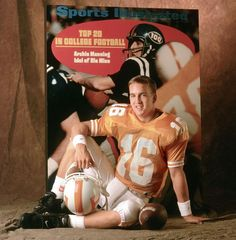 Broncos quarterback Peyton Manning was flown to Denver by the team on Thursday and met with Broncos general manager John Elway at the team's headquarters. Tennessee Volunteers Football, Tennessee Football, Denver Broncos Football, University Of Tennessee, College Football, Football Soccer, Pittsburgh Steelers, Dallas Cowboys, Football Pics