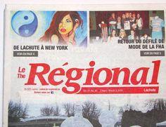 Le Régional - ''La lune du Yin'' Marie Lauzon #leelooart