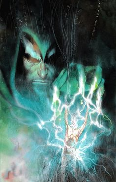 The Spectre by Bill Sienkiewicz