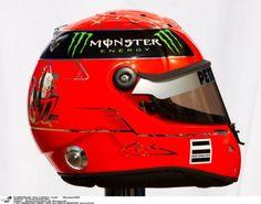 See what the grid of 2011 have done with their helmet designs. Michael Schumacher, Formula 1, Pastor Maldonado, Kamui Kobayashi, Sergio Perez, Mark Webber, Nico Rosberg, Racing Helmets, Hard Hats
