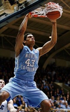 Tar Heel Blue Website | Feb 13, 2013; Durham, NC, USA; North Carolina Tar Heels forward James ...