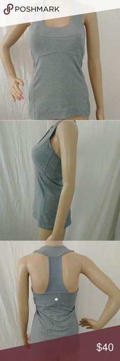 Lulumon size 6 scoop neck tank Excellent condition lululemon athletica Tops Tank Tops
