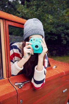 Fujifilm X UO Custom Colored Mini 8 Instax Camera