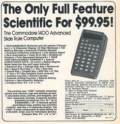 Commodore 1400 Ad.