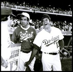 Jerry Lewis and Walter Matthau