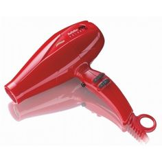 """The new Conair BaByliss Pro Volare hairdryer packs an """"engine"""" built with Ferrari's team using real Ferrari parts. I'm just hoping that if I use the Volare my hair will ooze Italian sex appeal. Babyliss Pro Hair Dryer, World Industries, Hair Blow Dryer, Performance Engines, Beauty Industry, Professional Hairstyles, Styling Tools, Ferrari"""