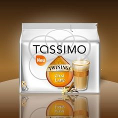 Love my Tassimo and I love the chai latte!