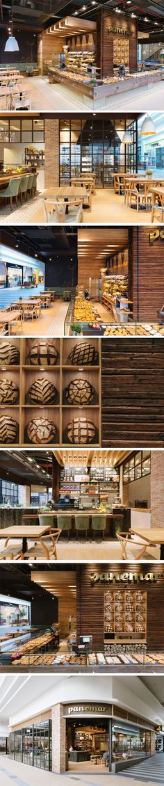 Panemar Polus Center Bakery by Todor Cosmin Studio, Cluj-Napoca – Romania.