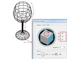 3D Modeling in Adobe Illustrator - Illustrator Tips - Vectorboom