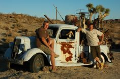 Gino Dreese and Troy Williams at Mojave Rock Ranch: splendid projects with before and after photos