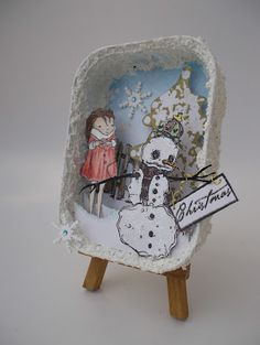 "Stampotique Designer's Blog: It's A ""Rubbish"" Christmas Ornament!!!"