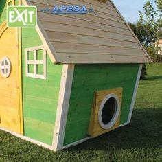 Exit Spielhaus Fantasia 100 von APESA Play Houses, Montage, Outdoor Decor, Kids, Design, Home Decor, Fantasy, Wooden Playhouse, Games