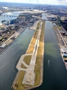London City Airport - to do some planespotting here at possibly the finest and most convenient airport in the world.