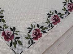Cross Stitch Tree, Cross Stitch Borders, Crochet Borders, Modern Cross Stitch Patterns, Cross Stitch Flowers, Counted Cross Stitch Patterns, Cross Stitch Designs, Cross Stitching, Embroidery Stitches
