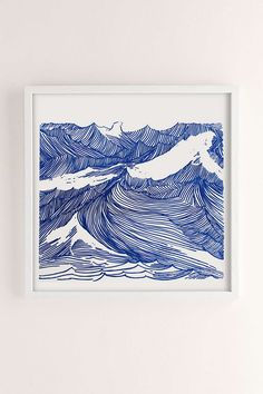 Kym Fulmer Crashing Waves Art Print