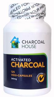 Activated Charcoal Capsules 125 count