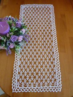 crochet doily,crochet doilies,lace table cloth,white doily,crochet rectangular d. Crochet Doily Rug, Crochet Tree, Crochet Borders, Crochet Tablecloth, Crochet Gifts, Filet Crochet, Easy Crochet, Crochet Patterns, Lace Patterns