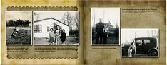 These are pages from my family heritage album using Picaboo's Natural Elegance backgrounds.