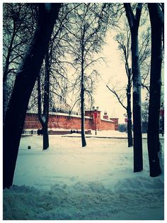 view of the Kremlin from the Park