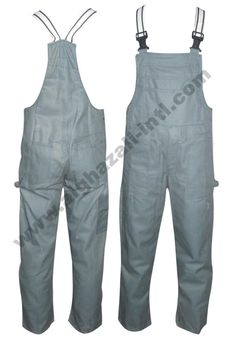Bib Trousers Made of 100% Cotton Twill Fabric  Also available in Poly-Cotton Mix fabrics.   Product customisation is possible