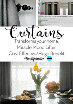 Great Designer Curtains At A Fraction Of The Cost See How Living Room