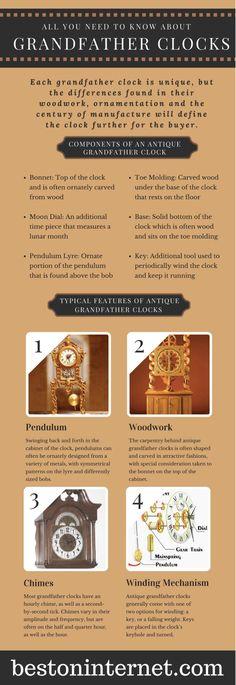 Ultimate guide to #GrandfatherClock http://www.bestoninternet.com/home-kitchen/home-decor/grandfather-clocks/