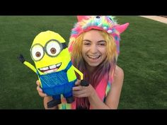 3d Pen: GIANT Minion!! (Despicable Me Minions) Scribbler - YouTube
