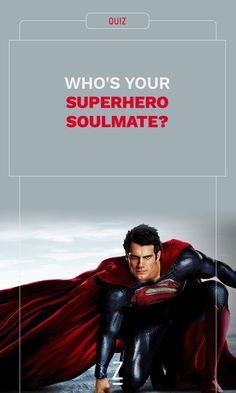 Who's Your Superhero Soulmate?