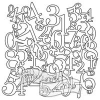 Shop for Crafter's Workshop Numbers Collage Template. Alphabet, Marker Crafts, Collage Template, Gelli Printing, Arts And Crafts Supplies, Art Supplies, Stencil Painting, Custom Art, Deco