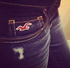 Hollister love there jeans