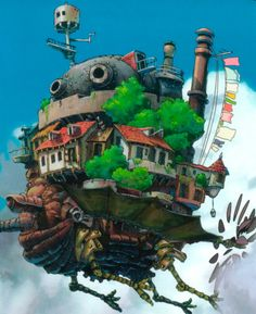 Hayao Miyazaki, Howl's Moving Castle, my absolute favourite film