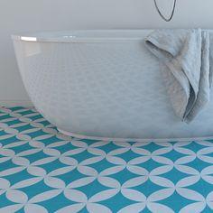 Vinyl floor - Flooring - Moroccan - Floor Tiles - Floor Vinyl - Tile Stickers…