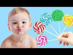 Colors for Children to Learn with Lollipop - Colours for Kids to Learn - Learning Educational Videos - YouTube