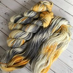 * PRE-ORDER * Wish Upon A Star, hand dyed yarn