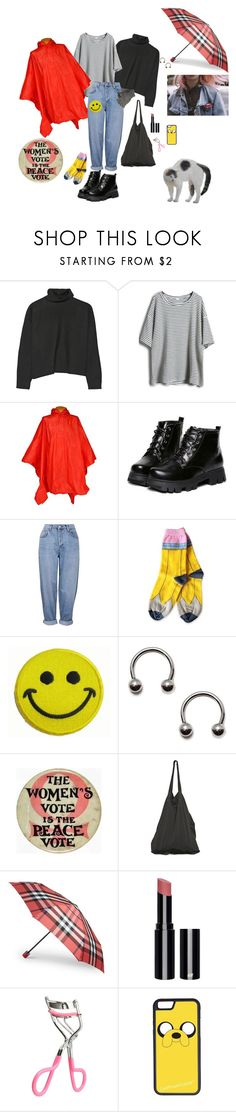 """""""It's rainning!!!!"""" by prusius on Polyvore featuring Marni, Futai, Topshop, Lazy Oaf, Hollywood Mirror, Laneus, Burberry, Barbour, H&M and CellPowerCases"""