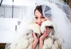 Fur and veil
