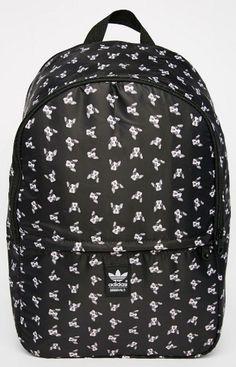 adidas Originals Rita Ora Puppy Print Backpack