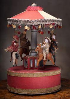 "15"" (38 cm) Rare Wonderful Rare French Mechanical Musical Automaton by Renou Antique dolls at Respectfulbear.com"