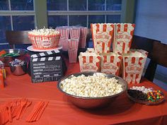 Movie themed birthday party on a budget!
