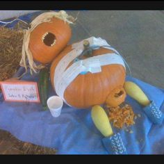 Labor & Delivery pumpkin: perfect with Halloween coming soon