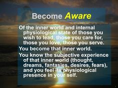 The Conscious Lifestyle: A Leader Must Be Aware | LinkedIn Deepak Chopra