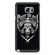 Pierce The Veil Skull Art TATUM-8610 Samsung Phonecase Cover Samsung Galaxy Note 2 Note 3 Note 4 Note 5 Note Edge