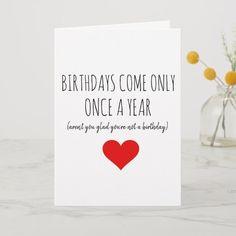 diy birthday cards for boyfriend Diy Birthday Card For Boyfriend, Birthday Wishes For Him, Happy Birthday Funny, Birthday Cards For Friends, Bday Cards, Funny Birthday Cards, Funny Happy, Birthday Ideas, Birthday Humorous
