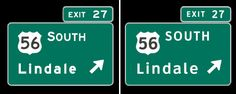 'Clearview' Road Sign Font to Slowly Disappear from U.S. Highways
