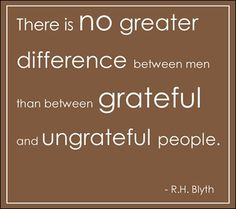 Gratitude Lists - Being a grateful person requires practice and persistence.