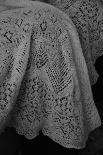 Vintage Sally: Sheltland Lace Knitting heirloom Christening shawl